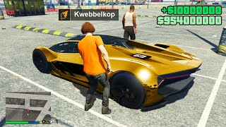 STEALING Luxury Cars From RAPPERS in GTA 5! (Drake, Kanye West, Justin Bieber, Travis Scott, Eminem)