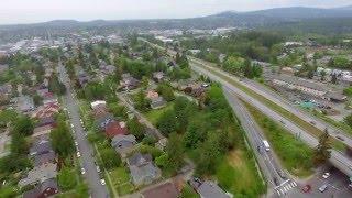 York Neighborhood Bellingham, WA Drone flyover