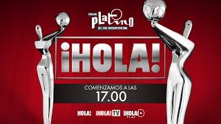 PREMIOS PLATINO 2021: en directo desde el set de ¡HOLA!
