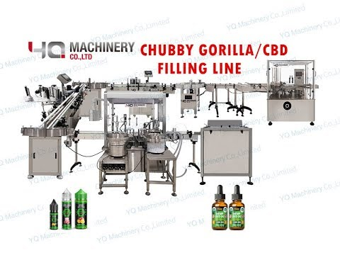 Automatic V3 Bottle Sorting Filling Sealing Labeling And Box Cartonig Machines
