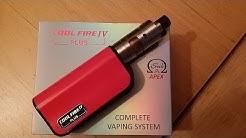 """Coolfire IV Plus -kit - """"Rahalle vastinetta!"""" (Kiitokset Finnvape.com)"""