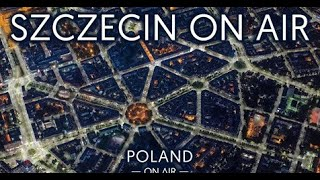 Szczecin z lotu ptaka | sesja lotnicza do albumu POLAND ON AIR by Maciej Margas & Aleksandra Łog
