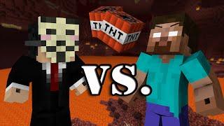 Hacker VS. Herobrine - Minecraft thumbnail