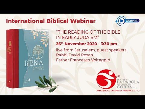 International Biblical Webinar