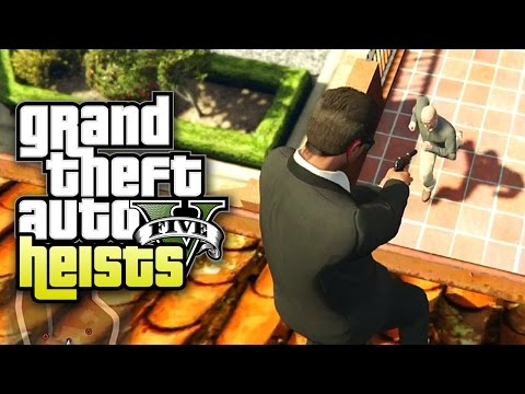 Grand Theft Auto V Heists - Part 6 - Wet Work (Heist #2: The Prison Break)