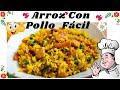 ARROZ CON POLLO  🍲  Recetas De Cocina Fácil Y Rápido