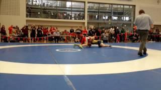 2015 Junior National Championships: 72 kg Georgina Nelthorpe vs. Demi Swann