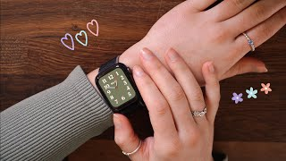 ASMR What is on my Apple Watch? 🦋