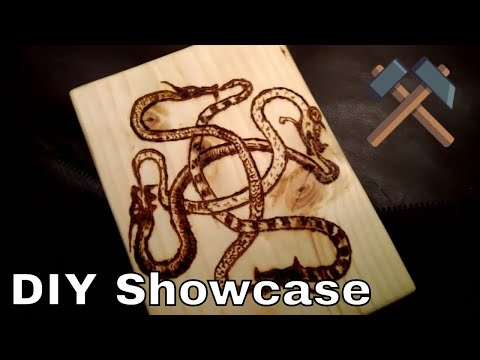 Handicraft Cutting Boards, Bismuth Crystals, Cast Tin Handles - Gmodism IRL Homemade Showcase
