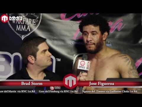 Warfare 11 Post Fight Interview With Jose Figueroa