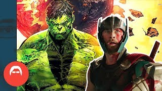 Why is THOR RAGNAROK based on a Hulk story?