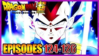 TITRES, SYNOPSIS ET STAFF DES EPISODES 124-126 DE DRAGON BALL SUPER - LPB #91