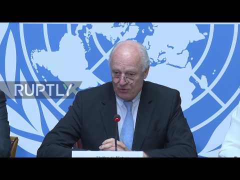 Switzerland: Astana and Geneva Syria talks to work 'in tandem' - De Mistura