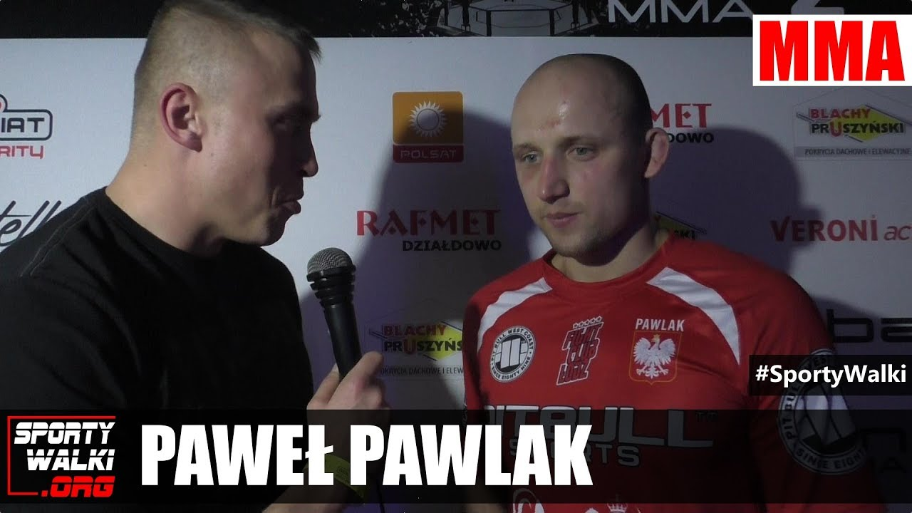 Paweł Pawlak po Babilon MMA 2