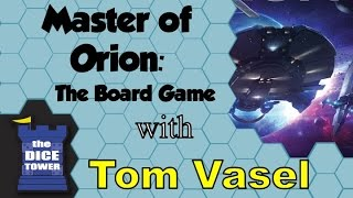 Master of Orion: The Board Game Review - with Tom Vasel