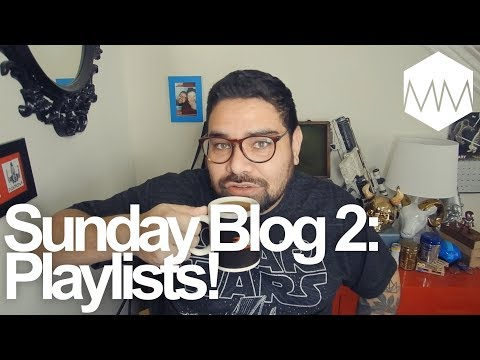 ▲ How to Use Playlists on Youtube for Small Channels // Sunday Blog 2