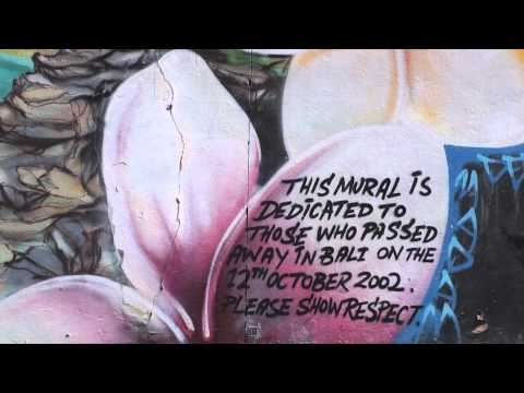 Street Art Wall Mural At Bondi Beach Sydney 2010