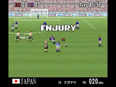 Super Formation Soccer 94   World Cup Final Data (J)