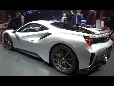 20+ min of Ferrari 488 PISTA from Geneva Salon 2018! Speciale KILLER? 4k Ultra HD