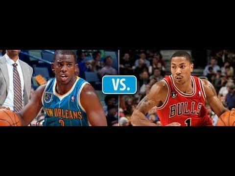 14490711607 Chris Paul vs Derrick Rose Mix!!!!! who is really the best point guard