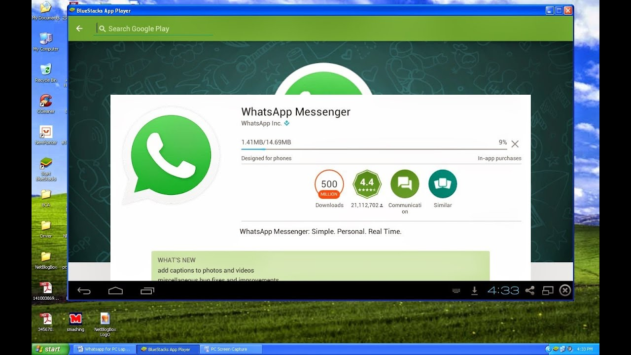 Install whatsapp messanger in your computer how to youtube stopboris Images