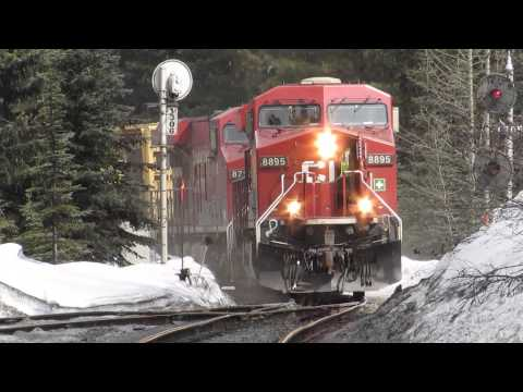Canadian Pacific Spiral Tunnels April 2014
