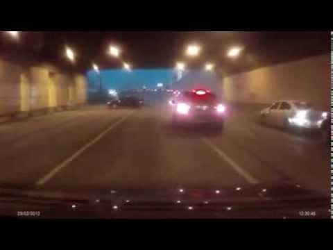 Accident Dans Un Tunnel En Direct !
