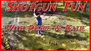 Shotgun Fun with Richie & Katie