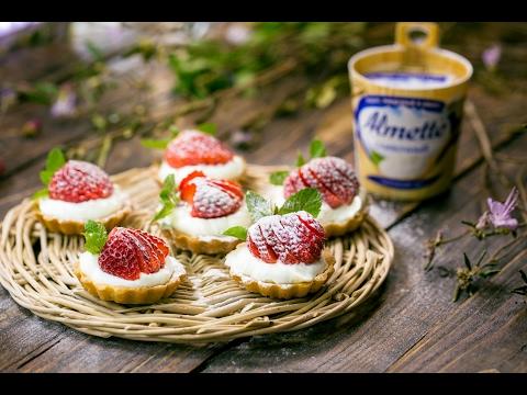 Тарталетки с кремом из Almette
