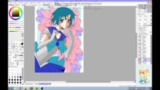 """Speedpaint """"Sailor Merkur"""""""
