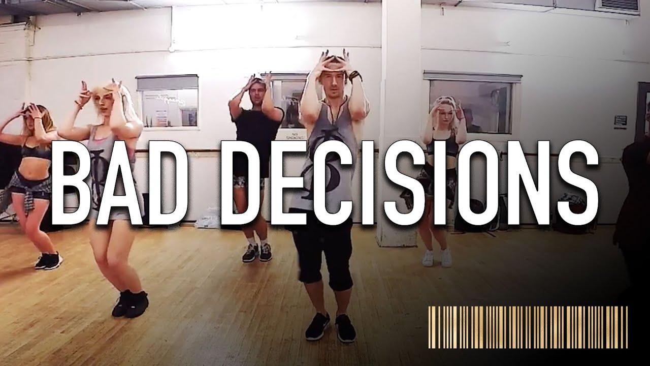 Bad Decisions Ariana Grande Dance Routine Video Brendon Hansford Choreography