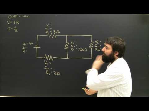 Physics Help: Series and Parallel Circuits Electricity Diagrams Part 4 thumbnail