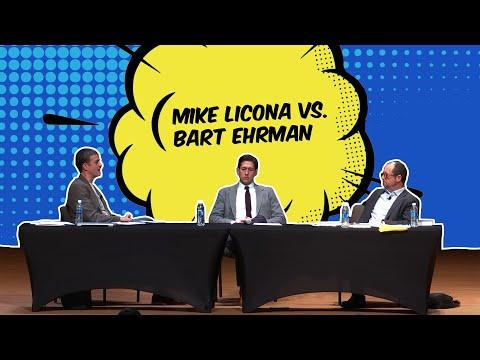 DEBATE: Bart Ehrman vs  Mike Licona 2018