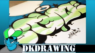 Graffiti Tutorial for beginners - How to draw graffiti bubble style(DK's Graffiti Shop: http://www.dkdrawing.bigcartel.com This is my graffiti workshop. The next weeks i want to show you how to draw graffiti step by step., 2015-02-25T18:00:06.000Z)