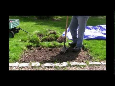 How to Create a Garden Bed Video YouTube