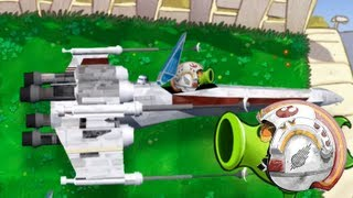 Plants vs. Zombies Star Wars Episode 2 (Return of the Pea shooter)