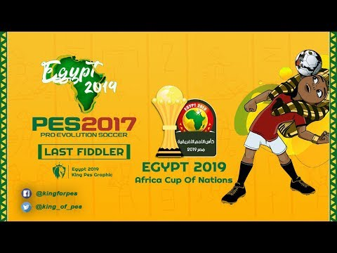 PES 17 Graphic Africa Cup Of Nations 2019 by Last Fiddler