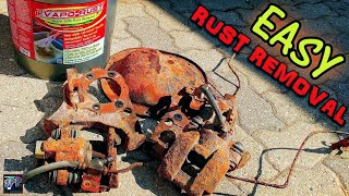 Rust Repair using Evapo-Rust Super Safe Rust Remover | Turbo LS S10 Differential Disassembly