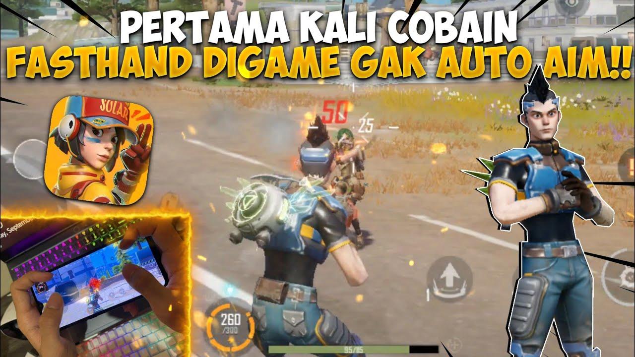 COBAIN FASTHAND DIGAME YANG GAK AUTO AIM!! SOLO VS SQUAD AUTO KILL BANYAK - FARLIGHT84