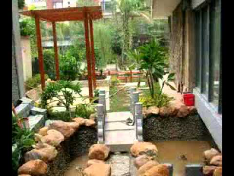 Home Garden Design Simple Home Garden Design Ideas  Youtube Inspiration Design