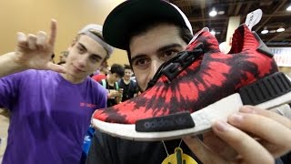 what sneakers i copped at sneakercon phx