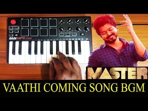Vaathi Coming - Mass Bgm By Raj Bharath   Thalapathy Vijay   Anirudh