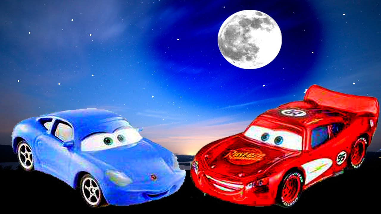 Disney Pixar Cars Lightning Mcqueen And Sally Carreras Date Kids Toys Movie Fun Youtube