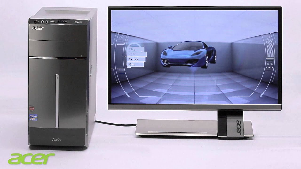 acer aspire m und aspire t desktop pc serie youtube. Black Bedroom Furniture Sets. Home Design Ideas