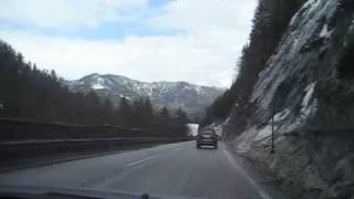 Альпы. На автомобиле в Европу .