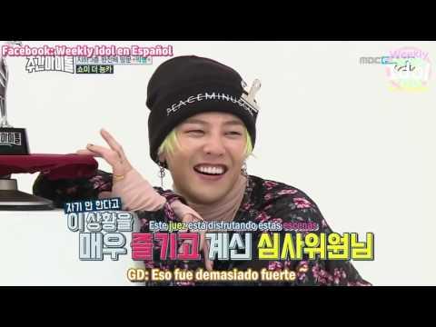 [Sub Español] 170111 Weekly Idol BIGBANG Part 2 (Full)