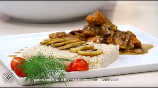 Choumicha : Couscous au poulet et champignons | Couscous with mushrooms and chicken