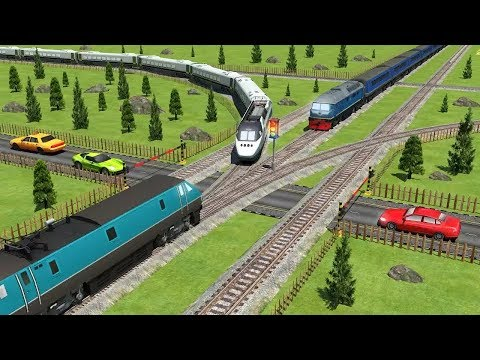 TRAIN DRIVING SIMULATOR FREE GAMES #001 - Train Simulator Games Android #q | Free Games Download