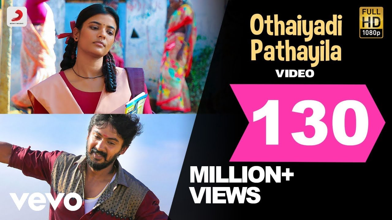 Download Kanaa - Othaiyadi Pathayila Video | Arunraja Kamaraj | Dhibu Ninan Thomas
