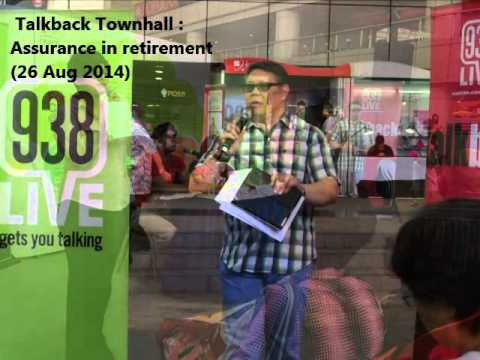 938LIVE Talkback Townhall  - Assurance in retirement (26 Aug 2014)